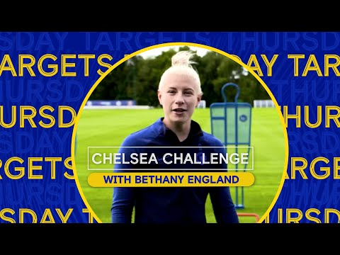 Home Exercises for Kids with Chelsea Players | Targets with Bethany England | Chelsea Challenge Ep.4