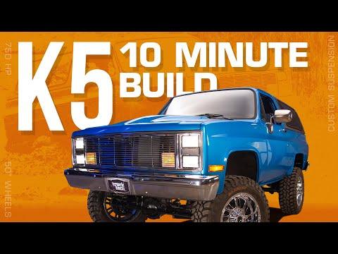 Rebuilding a Chevy K5 Blazer in 10 Minutes!
