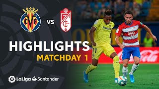 Highlights Villarreal CF vs Granada CF (4-4)