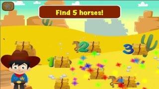 Cowboy Preschool Math Games YouTube video