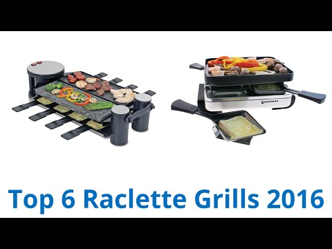 6 Best Raclette Grills 2016