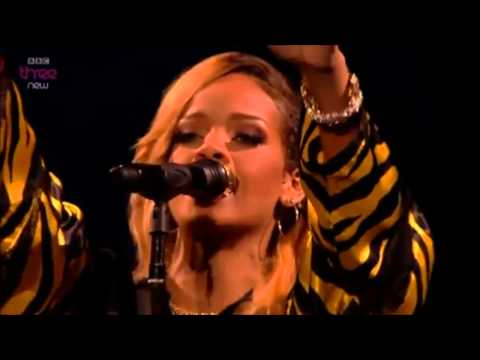Rihanna ' In The Park Festival 2013'  BBC3 - WHAT NOW - STAY - DIAMONDS