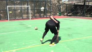 詹瑞文為Hong Kong Foot代表隊踢波挑機!Jim Chim dizzy football challenge
