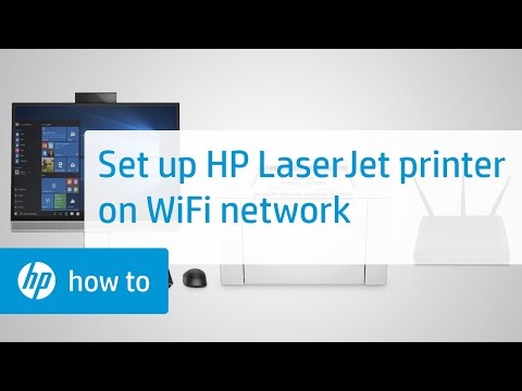 Setting Up Your HP LaserJet Printer on a Wireless Network in Windows
