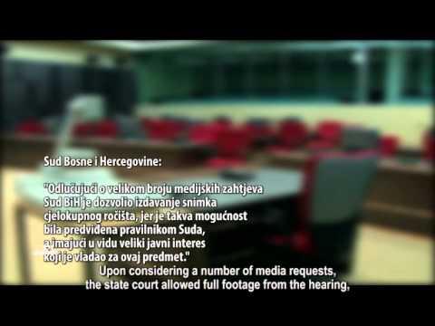 Epizoda 65: Sud BiH ukinuo izdavanje snimaka sa suđenja za ratne zločine