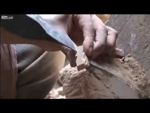 An impression of the production of mosaic panels, start to finish. [5:21]