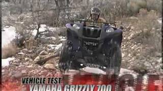 8. ATV Television Test - 2008 Yamaha Grizzly 700 EPS