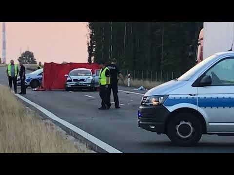 Wideo: Śmiertelny wypadek na S3 pod Lubinem
