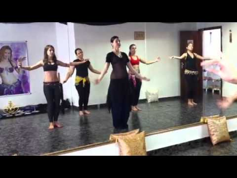 Fairuza - Workshop Tribal Fusion em Itapolis SP Parte 3.