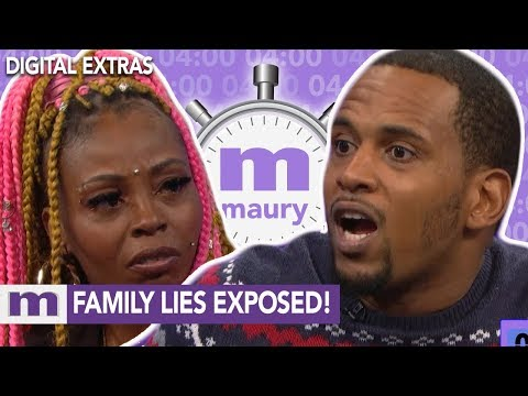 Family lies exposed! | The Maury Show