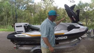 10. Review 2019 Sea-doo Fish Pro