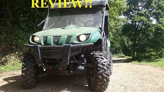 6. REAL Review!! 2000 YAMAHA RHINO!