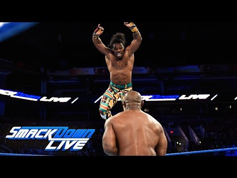 The New Day vs. Gable & Benjamin - Winners face The Usos at Fastlane: SmackDown LIVE, Feb. 20, 2018 (видео)