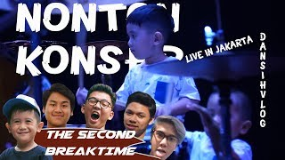 Nonton Konser The Second Breaktime!!!... Athallah cium pipi aa Iqbaal Dhiafakhri saat manggung
