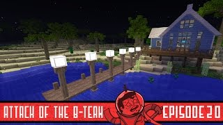 Minecraft Boat Dock - Attack of the B-Team - 20