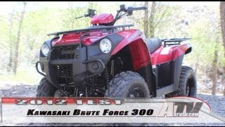 3. ATV Television - 2012 Kawasaki Brute Force 300 Test