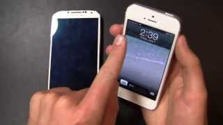 Samsung Galaxy S 4 Vs. Apple IPhone 5 Dogfight Part 2