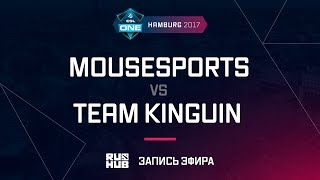 mousesports vs Team Kinguin, ESL One Hamburg 2017, game 2 [Maelstorm, LightOfHeaven]