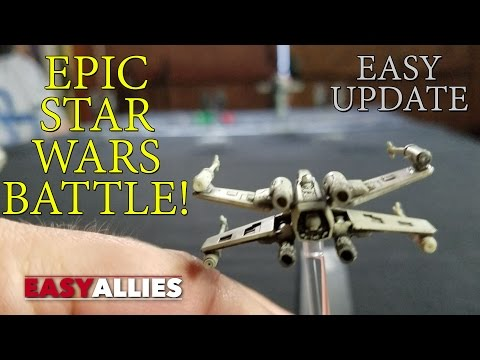 THE MOST EPIC STAR WARS BATTLE OF ALL TIME! - EASY UPDATE
