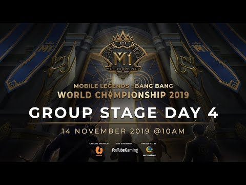 VOD : MLBB World Championship 2019 Day 4 Group Stage D
