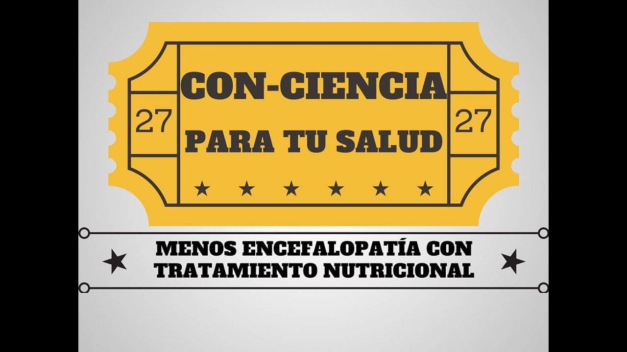 Importancia de la nutrición en la encefalopatía hepática