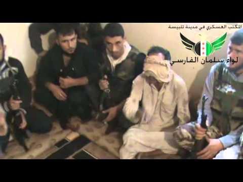 فيديو التحقيق مع العميد مطر الأسعد قعد يسب الجيش الحر يعتقد أنه مع المخابرات السورية وتفاجأ أنه وسط الجيش الحر
