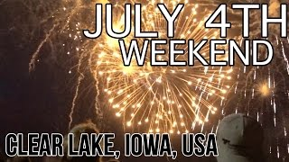Clear Lake (IA) United States  city images : 4th of July Weekend 2016 | Clear Lake | Iowa | USA