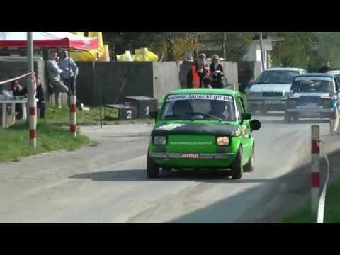 1 WRT EXTREME CUP 2014 - Janecki / Kozień - Fiat 126p CBR MaxxSp