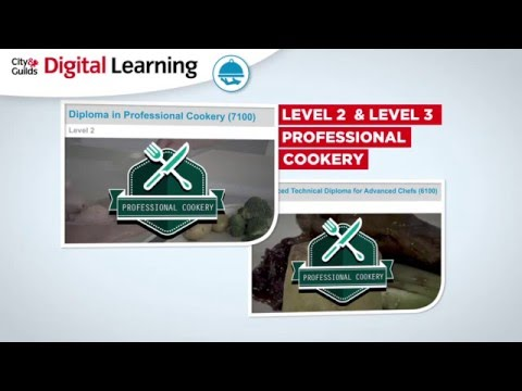 Professional Cookery - Digital Learning - Demo Video