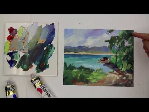 Demonstration: Colour Mixing Tip - Don't Over mix