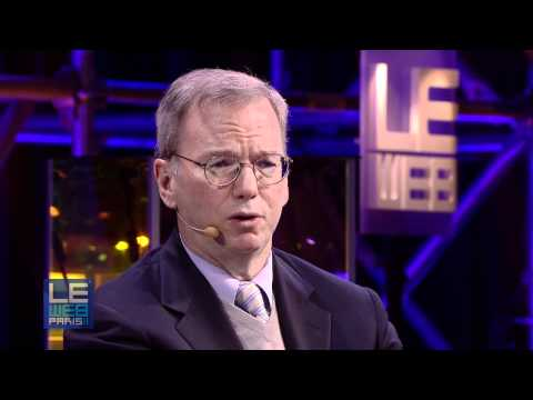 Keynote Eric Schmidt @ LeWeb 2011