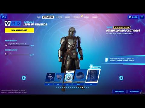 Full Fortnite Chapter 2 Season 5 Battle Pass Overview! All Battle Pass Rewards Fortnite Season 15