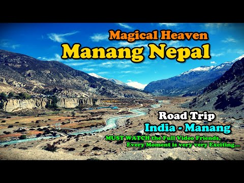 WORLD'S MOST DANGEROUS ROAD | Manang, Nepal | Scary Adventure Road Trip | India  - Manang | Part 1