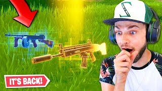 Download Video the Drum Gun is *BACK* in Fortnite! MP3 3GP MP4