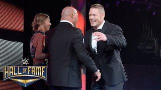 Nonton Kurt Angle is welcomed home to WWE by John Cena: WWE Hall of Fame 2017 (WWE Network Exclusive) Film Subtitle Indonesia Streaming Movie Download