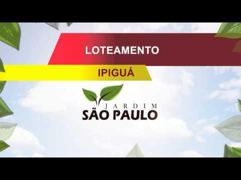 Loteamento Jardim São Paulo, em Ipiguá - SP
