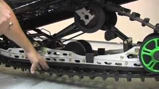 9. Adjusting Track Tension on 2010 Arctic Cat Crossfire R 800