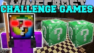 Video Minecraft: AZKOR THE QUESTIONABLE CHALLENGE GAMES - Lucky Block Mod - Modded Mini-Game MP3, 3GP, MP4, WEBM, AVI, FLV Juni 2019