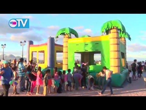 Cierre de vacaciones y bienvenida al año escolar en el Paseo de los Estudiantes
