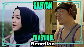 Video YA ASYIQOL BY SABYAN Reaction 「TMF (AAA)」 MP3, 3GP, MP4, WEBM, AVI, FLV November 2018