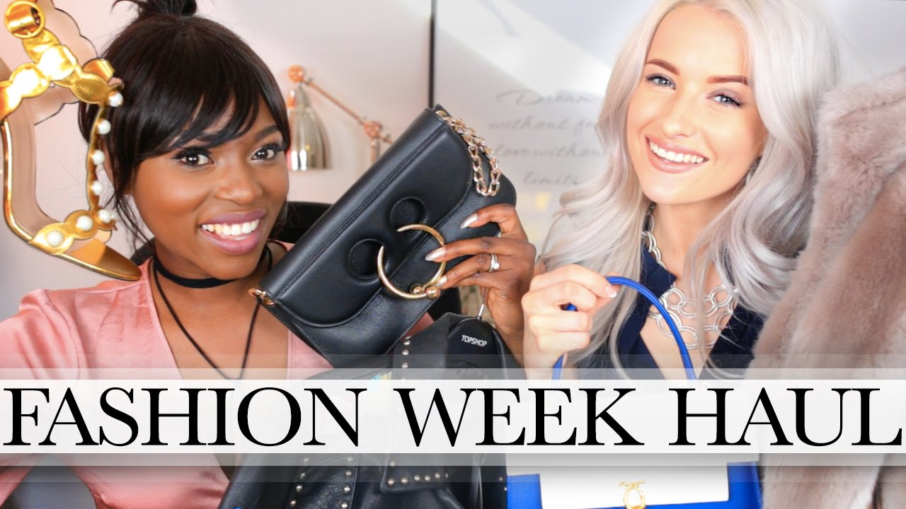 DESIGNER HAUL FOR FASHION WEEK WITH PATRICIA BRIGHT