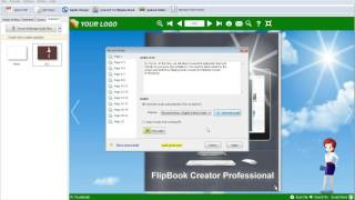 Create a speaking flipping book with FlipBook Creator
