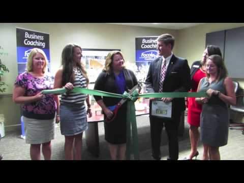 Ribbon Cutting with Focal Point - Mia Wade