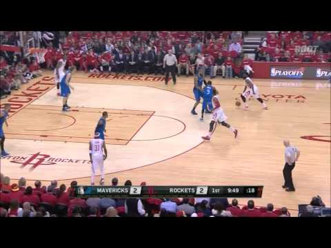 Harden finds Dwight Howard for the thunderous alley-oop in Game 1