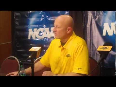 NDSU head football coach Craig Bohl address the media following NDSU's 38-7 victory over Furman University.