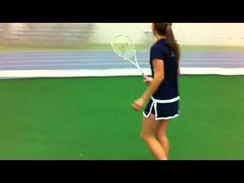 Throwing Squash Racquets