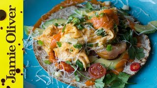 Beautiful Breakfast Tortillas | Jamie Oliver by Jamie Oliver