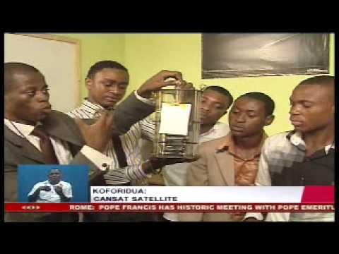 Koforidua, Ghana: Cansat Satellite