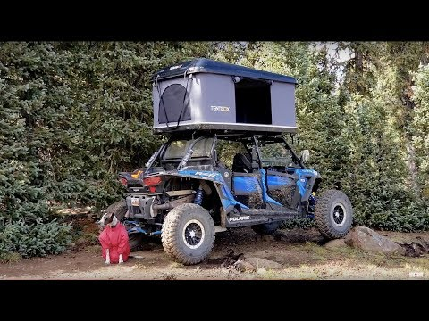 Video RZR Side X Side Remote Wilderness Lake Trout Fishing & Camping Roof Top Tent download in MP3, 3GP, MP4, WEBM, AVI, FLV January 2017