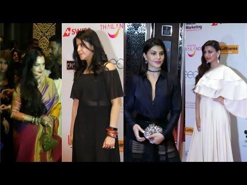 Rekha | Jacqueline Fernandez | Ekta Kapoor | Sonali Bendre| At Asia Spy Awards